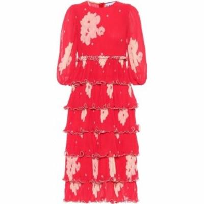 ガニー Ganni レディース ワンピース ミドル丈 ワンピース・ドレス floral georgette midi dress Lollipop