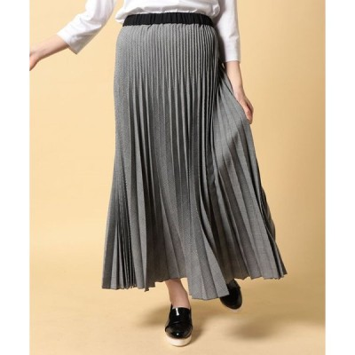 CARA O CRUZ / 【セットアップ対応】グレンチェックのプリーツスカート