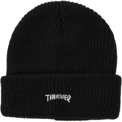 [スラッシャー] [ユニセックス] ニットキャップ (ブランドロゴ)[ 20TH-N66 / MAG LOGO BIEANIE ] 帽子 おしゃれ B