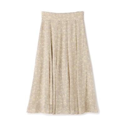 楊柳フローラルスカート