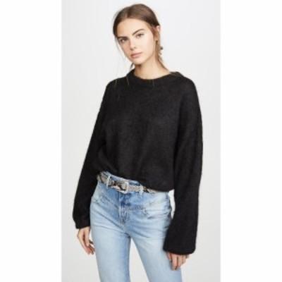 フリーピープル Free People レディース ニット・セーター トップス angellic sweater Black