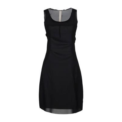 LE COEUR TWINSET ミニワンピース&ドレス ブラック L 95% ポリエステル 5% ポリウレタン ミニワンピース&ドレス