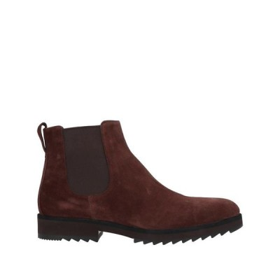 A.TESTONI ショートブーツ  メンズファッション  メンズシューズ、紳士靴  ブーツ  その他ブーツ ココア