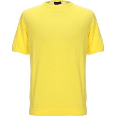 ロベルトコリーナ ROBERTO COLLINA メンズ ニット・セーター トップス sweater Yellow
