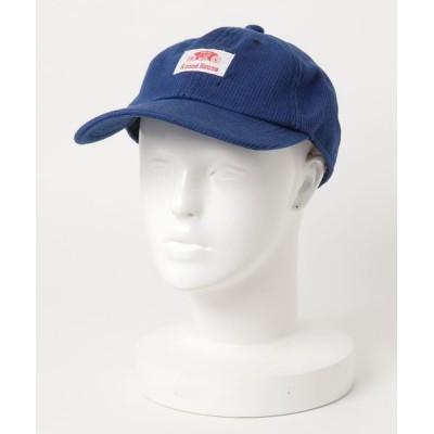 atmos / ROUND HOUSE INDIGO PIQUE LOW CAP MEN 帽子 > キャップ