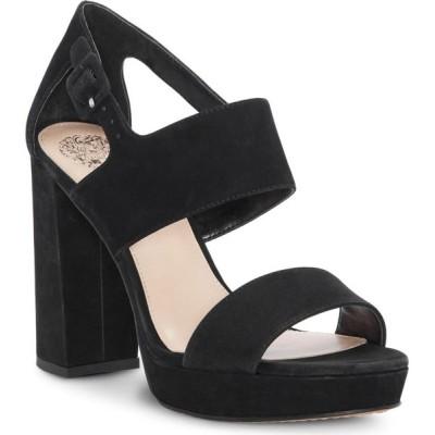 ヴィンス カムート Vince Camuto レディース サンダル・ミュール シューズ・靴 Jayvid Suede Platform Sandals ブラック