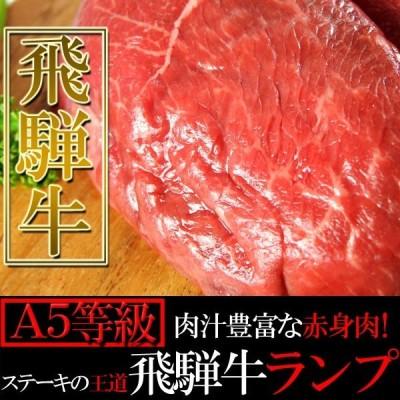肉汁豊富な赤身肉!ステーキの王道 飛騨牛【A5等級】ランプ100g×5枚入り[B冷蔵]