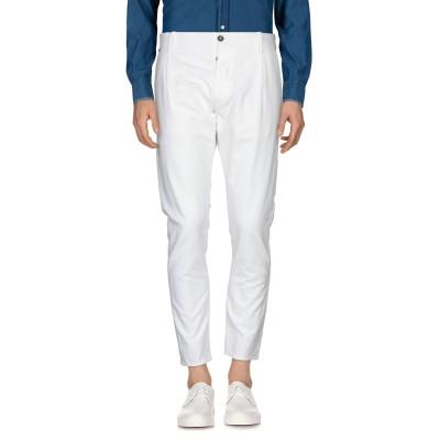メッサジェリエ MESSAGERIE パンツ ホワイト 48 コットン 75% / 麻 25% パンツ
