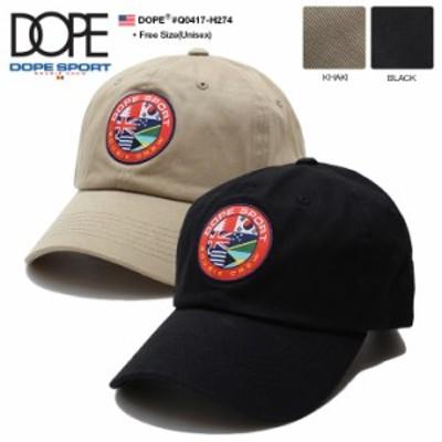 ドープスポーツ DOPE SPORTS 帽子 キャップ 【Q0417-H274】 メンズ レディース ローキャップ ボールキャップ かっこいい おしゃれ CAP 国