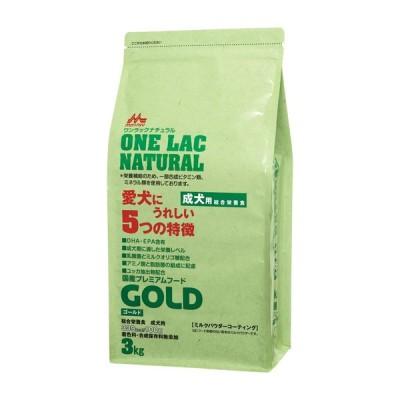 森乳サンワールド 国産プレミアムフード ワンラック ナチュラル ゴールド (成犬用) 3kg