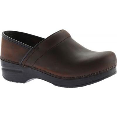 ダンスコ Dansko メンズ クロッグ シューズ・靴 Professional Clog Antique Brown Oiled