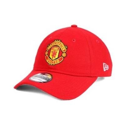 ニューエラ メンズ 帽子 アクセサリー Manchester United EPL Basic 9TWENTY Strapback Cap Red