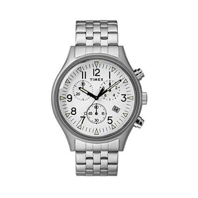 腕時計 タイメックス メンズ TW2R68900 TIMEX Silver Stainless Steel Watch-TW2R68900