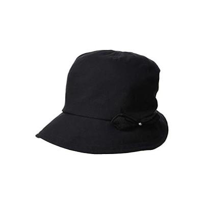 [ムーンバット] marylia マリリア リボンモチーフ付き オシャレ UV帽子 天然素材 綿 コットン日焼け対策 熱中症帽子 紫外線対策 旅行 ト