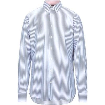 ハケット HACKETT メンズ シャツ トップス striped shirt Blue