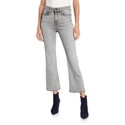 ラグアンドボーン レディース デニムパンツ ボトムス Nina High-Rise Ankle Flare Jeans