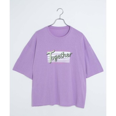 tシャツ Tシャツ DING/Together Tシャツ