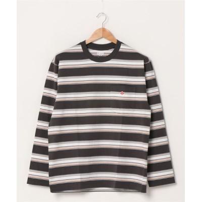 FREDY&GLOSTER / 【DANTON/ダントン】ポケット付きロンT #JD-9077 MEN トップス > Tシャツ/カットソー