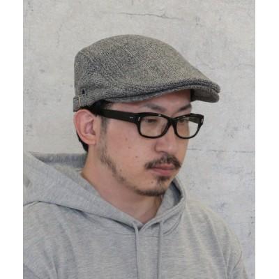 kana / ハンチング ウール ジャガード ビッグサイズ 大きい 無地 メンズ ユニセックス MEN 帽子 > ハンチング/ベレー帽