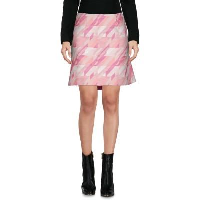 ピンコ PINKO ミニスカート ピンク 40 ポリエステル 100% ミニスカート