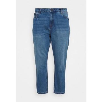 ノイズィーメイ レディース ファッション NMISABEL MOM - Relaxed fit jeans - medium blue denim