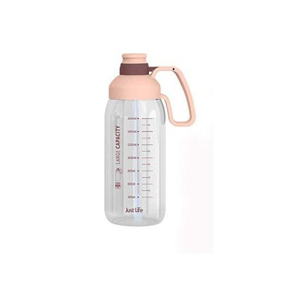 Large-capacity 1.8L water bottle,Tritan material is safe and healthy, wide