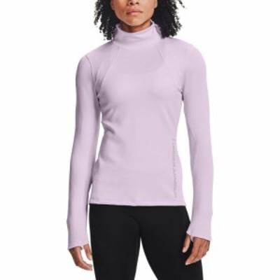アンダーアーマー Under Armour レディース トップス ColdGear Armour Form Funnel Long Sleeve Shirt Crystal Lilac