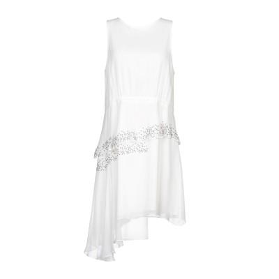 トーマス・ワイルド THOMAS WYLDE ミニワンピース&ドレス アイボリー L シルク 100% ミニワンピース&ドレス