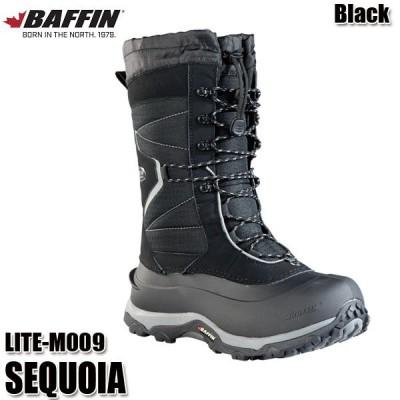 スノーブーツ バフィン セコイア BAFFIN SEQUOIA LITE‐M009 black メンズ 防寒ブーツ ウィンターブーツ 日本正規品