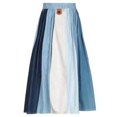 HIGH by CLAIRE CAMPBELL デニムスカート ブルー 40 コットン 100% / リネン デニムスカート