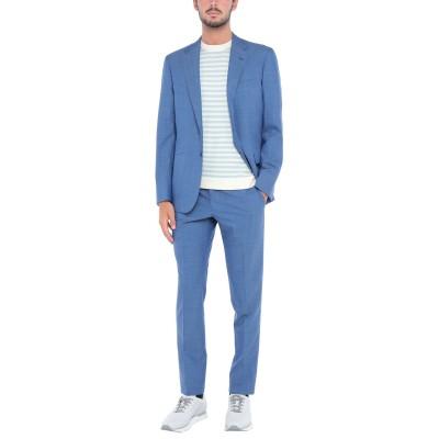 サルトリオ SARTORIO スーツ ブルー 48 ウール 100% スーツ