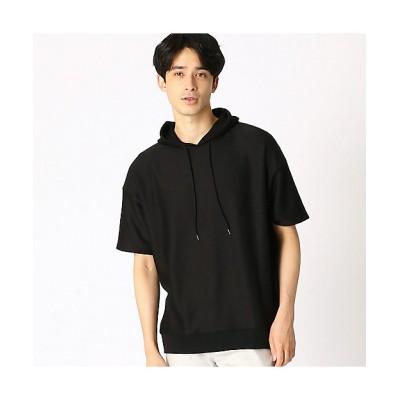 <COMME CA ISM (Men)/コムサイズム> フードTシャツ(4760TT15) ブラック【三越伊勢丹/公式】