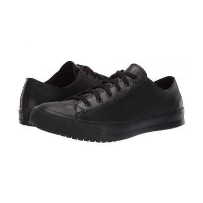 Shoes for Crews メンズ 男性用 シューズ 靴 オックスフォード 紳士靴 通勤靴 Delray - Black Leather