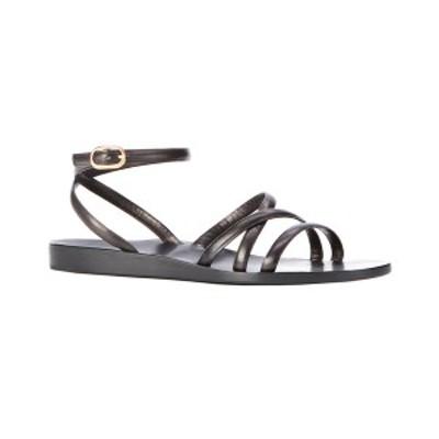 マリオン・パーク レディース サンダル シューズ Marion Parke Jill Leather Sandal black luxe calf leather