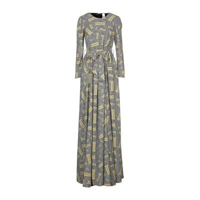ULTRA'CHIC ロングワンピース&ドレス ブラック 46 ポリエステル 100% ロングワンピース&ドレス