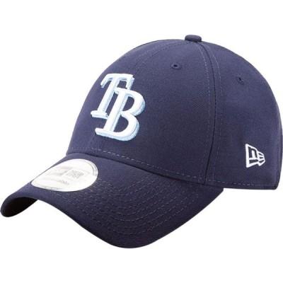 ニューエラ New Era メンズ キャップ 帽子 Tampa Bay Rays 9Forty Pinch Hitter Navy Adjustable Hat