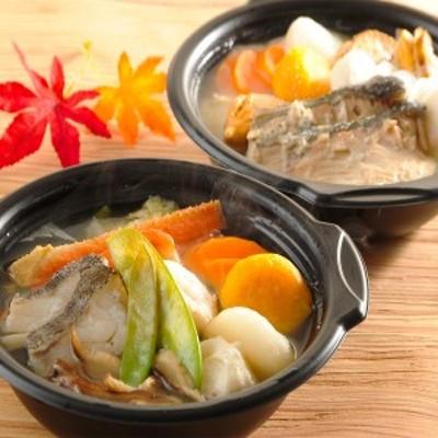 石狩鍋 北の温もり個食鍋 2種4個 セット カニ鍋 北海道 冷凍 一人前 惣菜 1人用 ひとり鍋 海鮮鍋