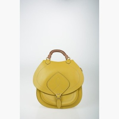 MAISON MARGIELA/メゾン マルジェラ Yellow レディース MM11 Leather Saddle Bag dk
