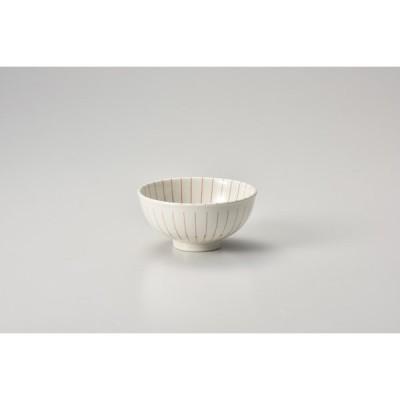 ルナ十草(赤)軽量茶碗 キ362-257