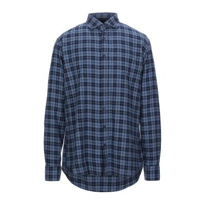 BASTONCINO シャツ ダークブルー 44 コットン 100% シャツ