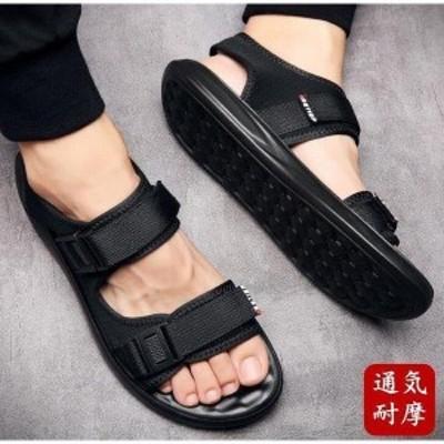 メンズサンダル サンダル スポーツサンダル 夏 海 ビーチ アウトドアサンダル スニーカー 通気性 軽量 靴