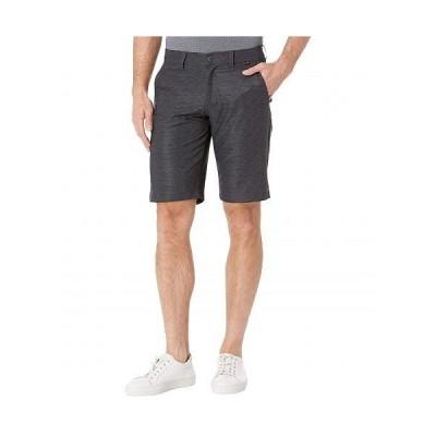 TravisMathew トラビスマシュー メンズ 男性用 ファッション ショートパンツ 短パン Connected Shorts - Grey Pinstripe