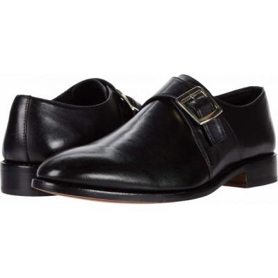 アンソニー ヴィア Anthony Veer メンズ 革靴・ビジネスシューズ シューズ・靴 Roosevelt Single Monk Strap Black