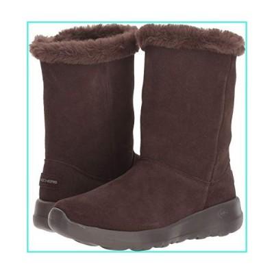 【新品】Skechers New Women's On The Go Joy Winter Snow Boot Chocolate 8(並行輸入品)