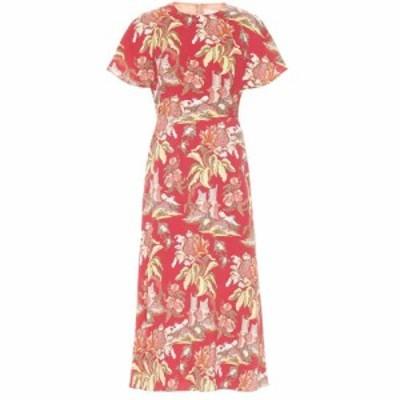 ピーター ピロット Peter Pilotto レディース ワンピース ワンピース・ドレス Printed midi dress Flower Canopy Red