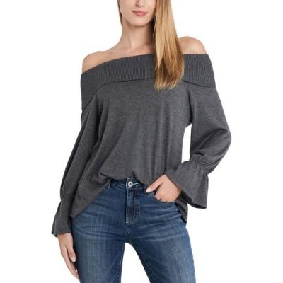 セセ レディース ニット・セーター アウター Off-The-Shoulder Sweater