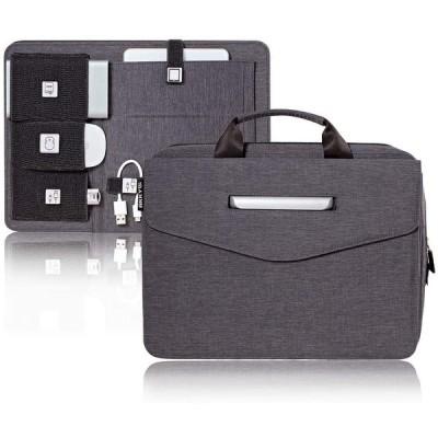 ARKY BoardPassバッグ 外部USBハブ内蔵ブリーフケースバッグ パーソナルパネルオーガナイザー ワークステーション グレー 0334000002000G