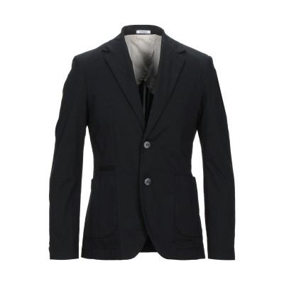 OFFICINA 36 テーラードジャケット ブラック 46 コットン 98% / ポリウレタン 2% テーラードジャケット