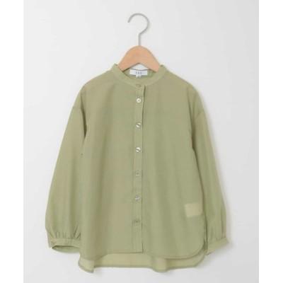 [140-150]バンドカラーロングシャツ