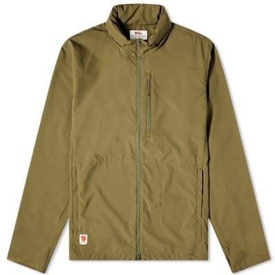 フェールラーベン Fjallraven メンズ ジャケット アウター High Coast Lite Jacket Green
